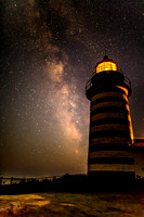 The Milky Way at West Quoddy Light