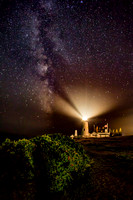 The Milky Way at Pemaquid Light