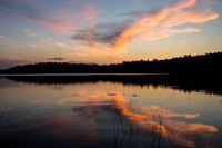 Dawn at Damariscotta Lake, Maine, July 2013