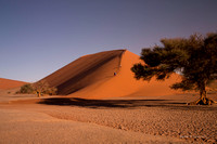 Climbing up Dune 45 at Sossusvlei