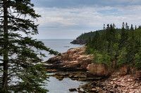 Monument Cove, Ocean Drive, Acadia NP, Maine, July 7, 2013
