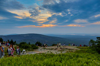 Sunset at Blue Hill Overlook, Cadillac Mtn., Acadia NP, July 7, 2013