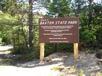 South entrance to Baxter State Park