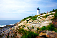 Lighthouse at Pemaquid Point, Maine