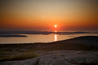 Sunrise from Cadillac Mountain - part 3