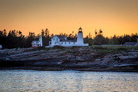 Pemaquid Light at dusk, June 27,2014