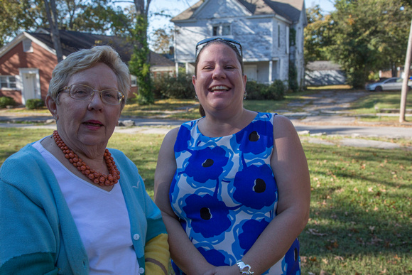 Ann Piper Pember and Kelly Watlington Peterson