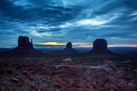 Dawn at Monument Valley
