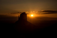 Sunrise at East Mitten Butte