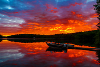 Dawn, Damariscotta Lake, Maine, June 22, 2014