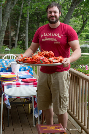 Lobsters for a 4th of July picnic!