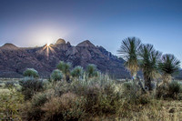 Sunrise at the Organ Mountains