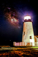 Pemaquid Light and the Milky Way